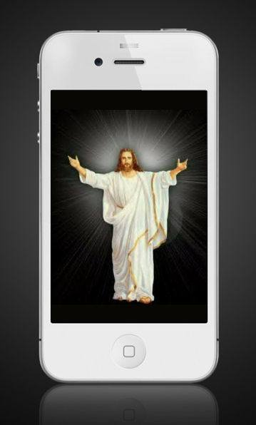 Jesus and iPhone